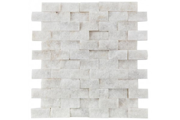 Cyristal White Mermer Patlatma Mozaik