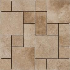 Walnut Traverten French Pattern Set